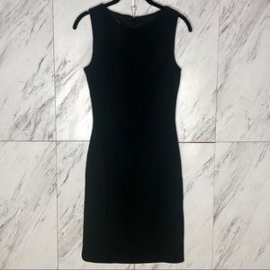 EUC MANGO Suit LBD Sleeveless Career Dress SZ 2